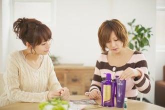 乾亜由美さんに1日の美容について聞きました。