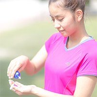 紫外線から守る美肌ヨガ