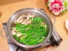 春野菜のパワーをいただく、デトックス美肌鍋